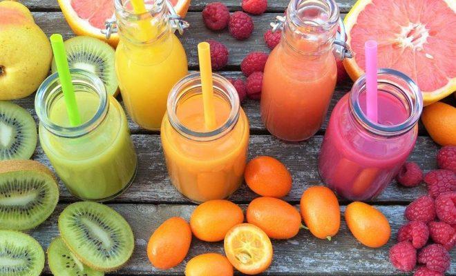 Letnie koktajle owocowe