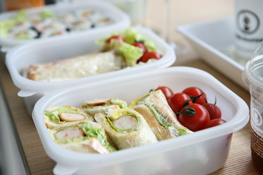 Zero waste plastikowe pudełko lunch