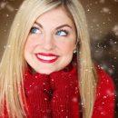 Zimowa biżuteria kobieta